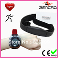 Fitness Sports Heart Rate Wrist Watch With Step Counter