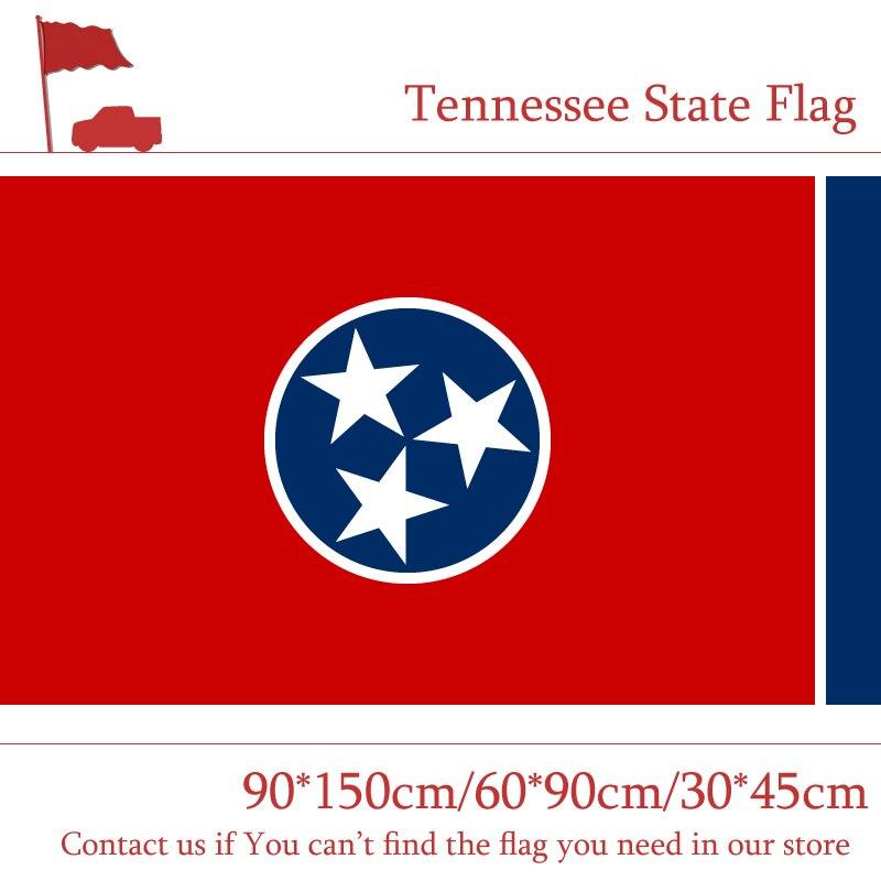 Tennessee State Flag 60*90cm 90*150cm Flag 30*45cm Car