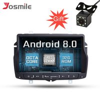 4G RAM 8 inch Android 8.0 Car DVD Player Radio For Lada Vesta Stereo GPS Navigation 8 Core Bluetooth 4G WIFI Audio Multimedia