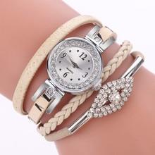 Duoya Fashion Women Girls Ladies Fashion Jewelry Watches Bra