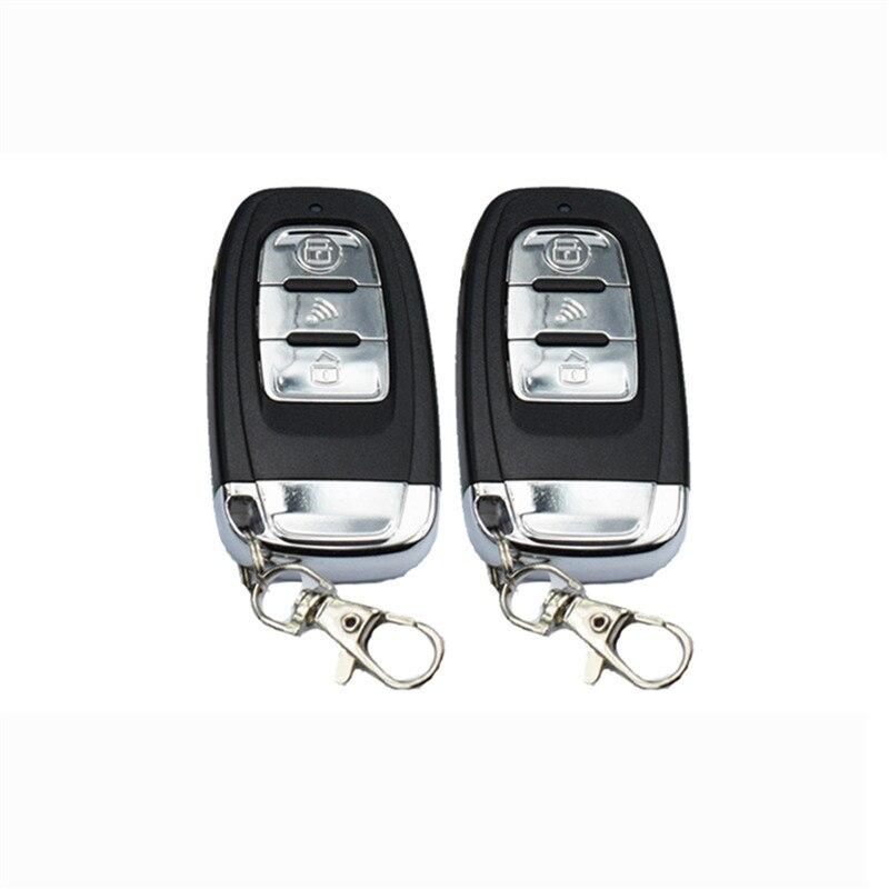 1 Set système d'alarme Auto en toute sécurité PKE entrée sans clé verrouillage centralisé bouton poussoir allumage moteur démarrage/arrêt moteur à distance universel - 6