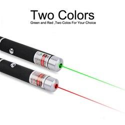 Лазерная указка 5 мВт мощное 500 м Лазерное Перо профессиональное лазерное указка для обучения на открытом воздухе игры красный/зеленый