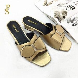 Image 5 - Anne terlik ayakkabı yay kadınlar için afrika tarzı ayakkabı