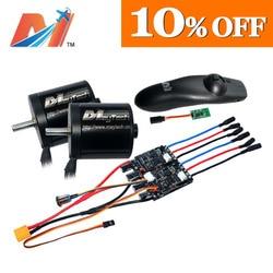 Maytech 10%OFF dual 5065 motor waterproof motor electric skateboard kit FOC ESC longboard ESC