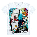 Batman Suicide Squad Joker Harley Quinn T-shirt Cosplay Costume clown Daddy's Lil Cosplay Monster Uniform Unisex t shirt