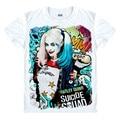 Batman Suicide Squad Joker Harley Quinn T-shirt Cosplay Costume clown Daddy's Lil Cosplay Monster Uniform Unisex t shirt