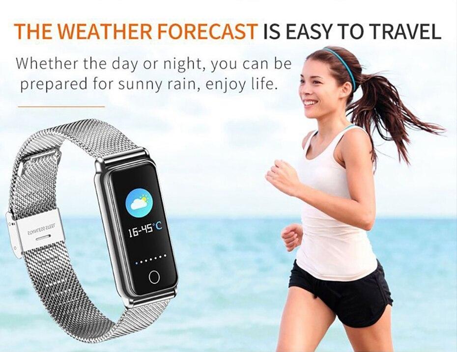 Y8 Smart Watch Stainless Steel Women Sports Touch Screen Health Bracelet Ons Men Fitness Bracelet for Measuring Pressure Fitness 2018 2019 (12)