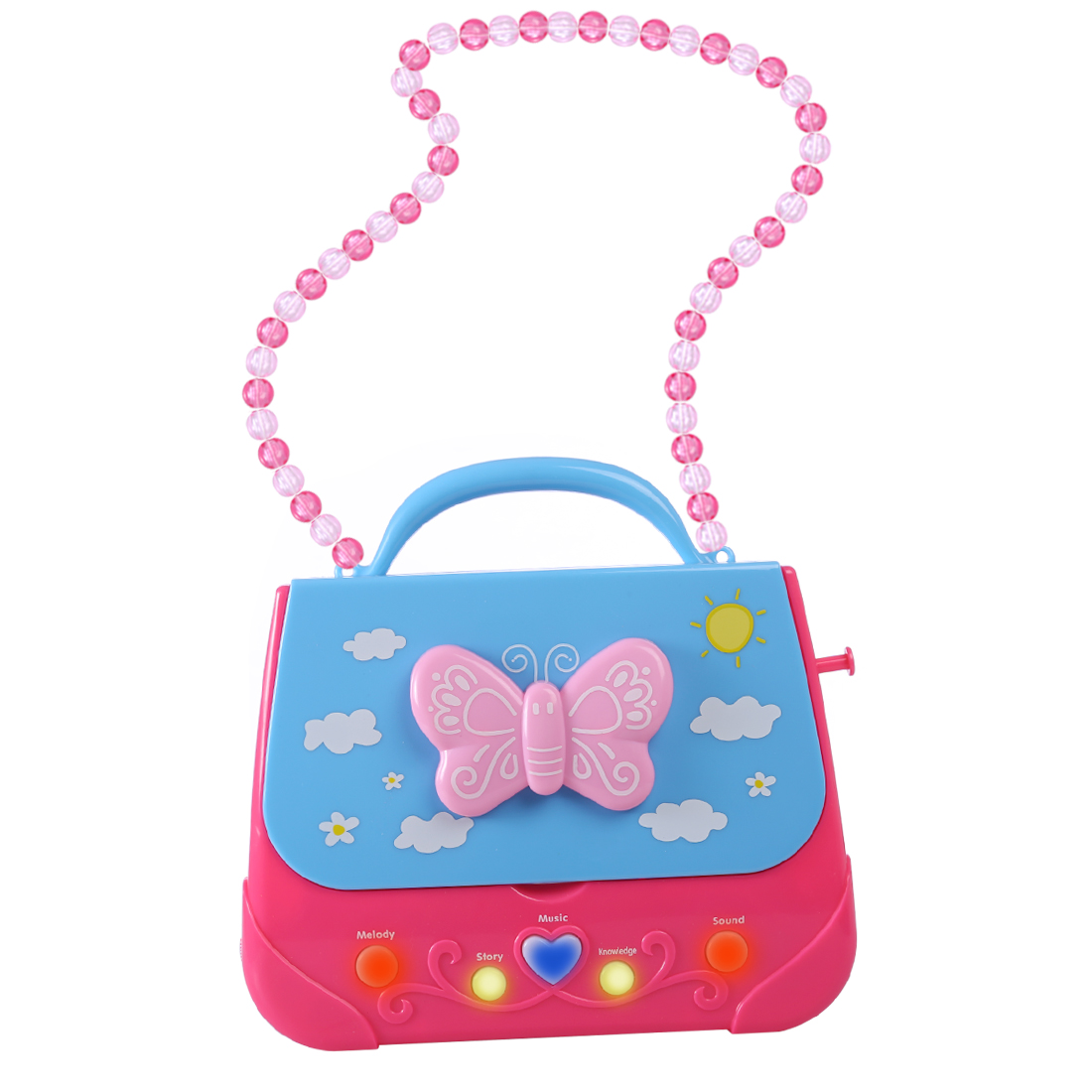 Karaoke Christmas Musical.Us 16 21 41 Off Children Portable Musical Bag Karaoke Machine Toys With Microphone Karaoke Player Learning Toy For Girl Christmas Gifts In Toy
