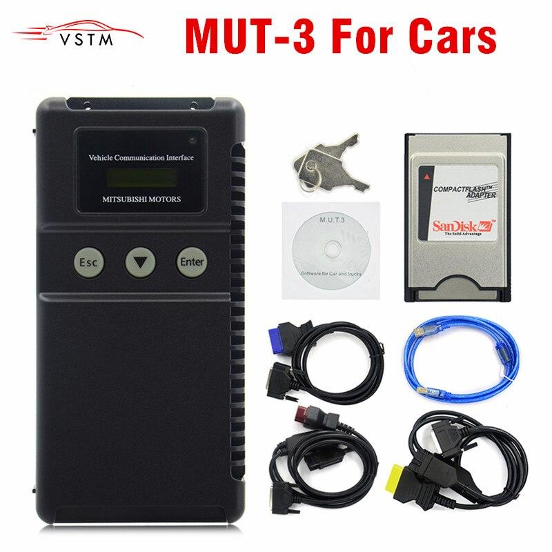 2019 Para Mitsubishi MUT-3 MUT3 apenas para o CARRO De Diagnóstico E Ferramenta de Programação 3 MUT MUT III Scanner