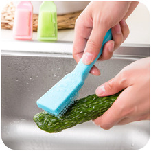 New Creative Multi-functional Fruit Vegetable Brush Kitchen Tools Easy Cleaning Home Gadgets Cooking Tool