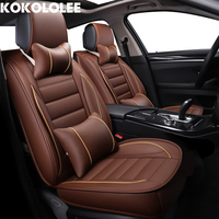 kokololee pu Leather Car Seat Cover for toyota c hr touareg ford s max priora opel astra j car accessories Automotive seat cover