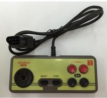 Japanese 8-bit console style NES 7Pin Plug Cable Controller, GamePad with Turbo A B Button
