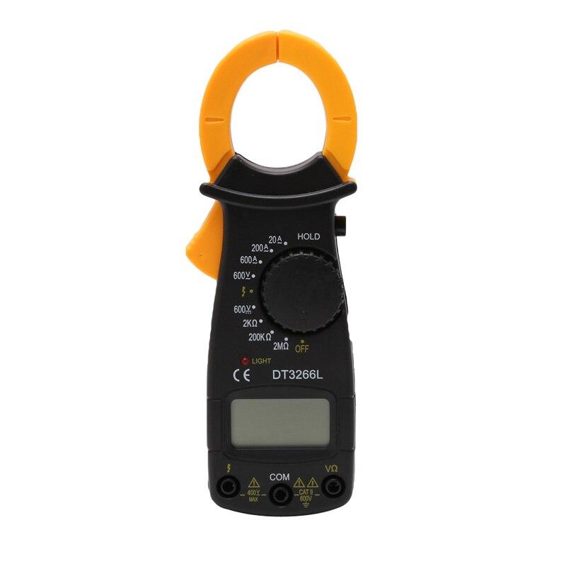 corrente pinça atual testador de resistência eletrônica ferramentas multímetro