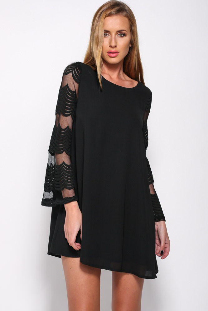 Popular Long Sleeve Chiffon Dress-Buy Cheap Long Sleeve Chiffon ...