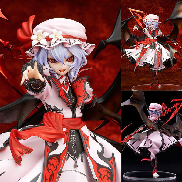 9 Touhou Project Anime the Embodiment of Scarlet Devil Remilia Scarlet Boxed 22cm PVC Action Figure