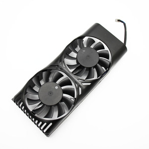 Image 4 - HA5510M12F Z 0.20A 2Pin GTX1050 Ti GPU wentylator chłodnicy dla MSI geforce GTX 1050 2GT LP GTX 1050Ti 4GT LPV1 karty graficznej chłodzenia
