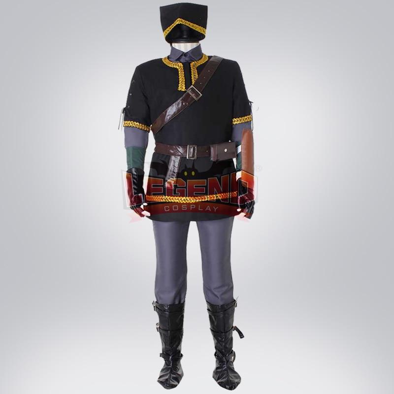 Cosplay legend Legend of Zelda Link Cosplay adult costume Custom Made full set