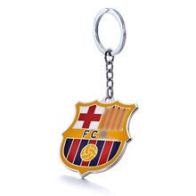 FC Barcelona Football Club Soccer Team Logo Metal Pendant Keychain For Fans
