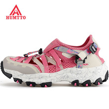 HUMTTO Women's Summer Sports Outdoor Hiking Trekking Aqua Shoes Female Sneakers For Women Climbing Mountain Water Shoes Woman  цена 2017