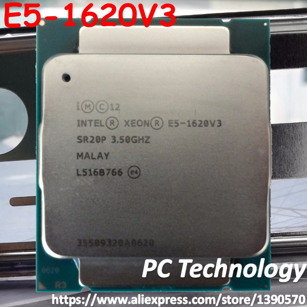 Intel Xeon E5 1620 V3 E5 1620V3 E5-1620V3 E5-1620 V3 3.50GHz 4-Core 10MB DDR4 2133MHz FCLGA2011-3 TPD 140W