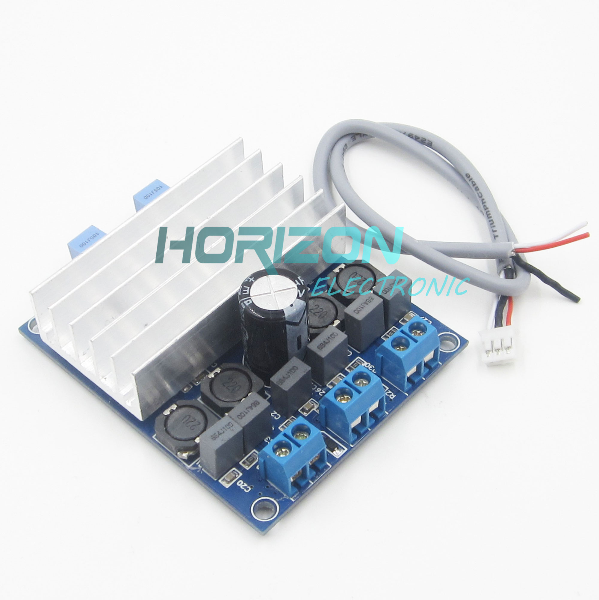 2 X 50w Tda7492 D Class High Power Digital Amplifier Board Amp Audio Circuit Blue Silver Radiator In Smart Remote Control From Consumer Electronics On Alibaba