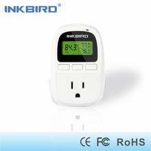 C206 10A 110V Heat Temperature Controller With Outlet, 6.56ft NTC Sensor, Terrarium, Aquarium, Heat Mat, Seed Germination