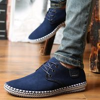 Men sneakers 2018 new fashion summer shoes men slip on shoes high end handmade suede breathable non slip men casual shoes
