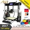 2017 Cheap 3d Printer Acrylic Frame Reprap Prusa I3 Anet A8 3d Printer Kit With Large