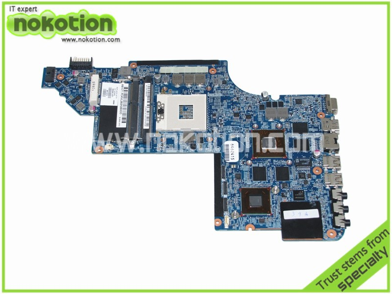 NOKOTION 665991-001 Laptop Motherboard for HP Pavilion DV7 DV7-6000 HM65 ATI HD 6770M graphics Mainboard full tested nokotion 665991 001 665990 001 for hp pavilion dv7 dv7 6000 laptop motherboard hm65 ddr3 hd 6770m 1gb graphics memory