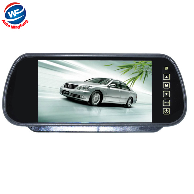 Car HD Video Auto Parking Monitor LED Night Vision Reversing CCD Car Rear View Camera With7