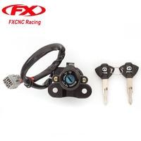 CNC Motorcycle Ignition Switch Lock And Keys For Suzuki GSXR1000 GSXR 1000 2005 2006 GSXR1000 GSXR 1000 2009 2016 09 10 11
