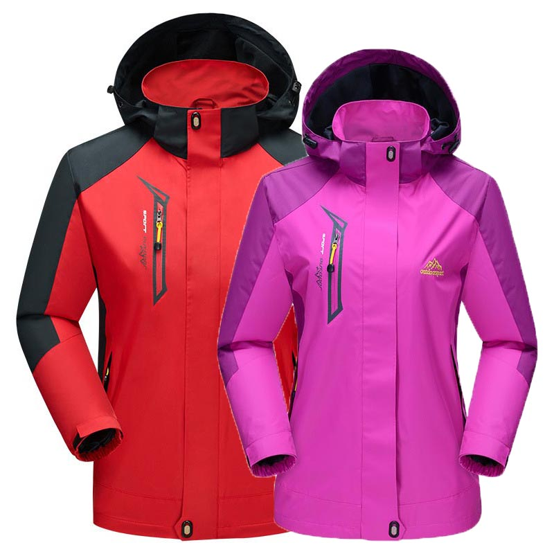 Autumn Outdoor Male&Female Monolayer Softshell Jacket Waterproof Windproof Hiking Jacket Men Breathable Climbing Trekking Jacket