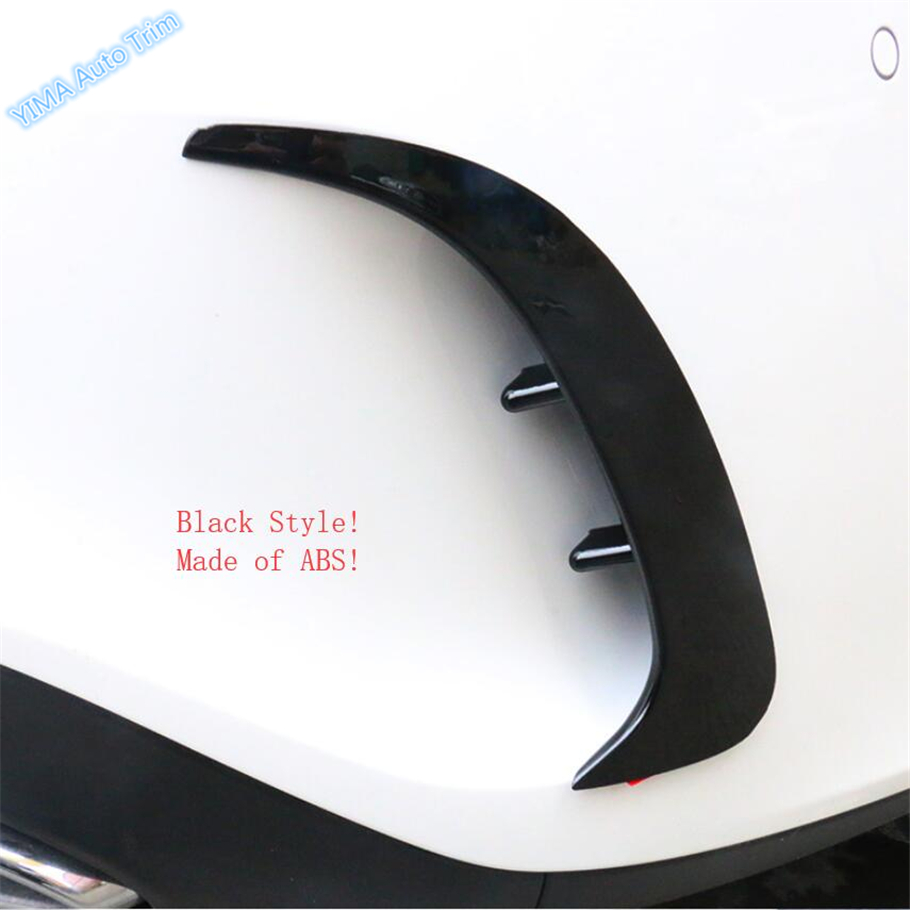 Lapetus Car Styling Rear Trunk Bumper Fog Lights Lamp Cover Trim ABS Fit For Mercedes Benz A Class W177 A200 A220 Sedan 2019Lapetus Car Styling Rear Trunk Bumper Fog Lights Lamp Cover Trim ABS Fit For Mercedes Benz A Class W177 A200 A220 Sedan 2019