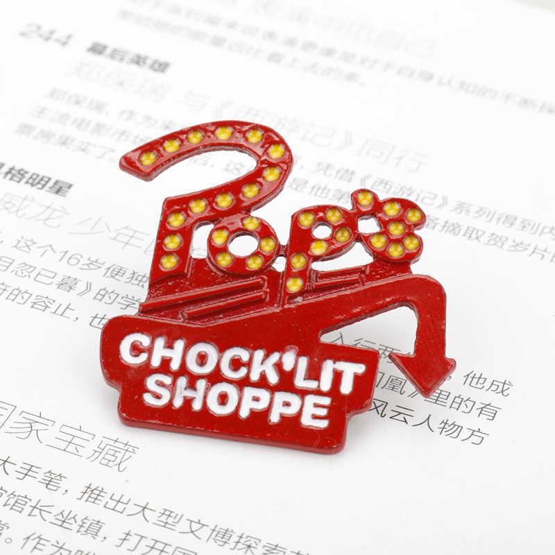 MQCHUN Riverdale Pop's Chock'lit Shoppe Enamel Pin Buckle Shirt Pins Brooches for Women Men Cartoon Lapel Pin Jewelry badge Gift