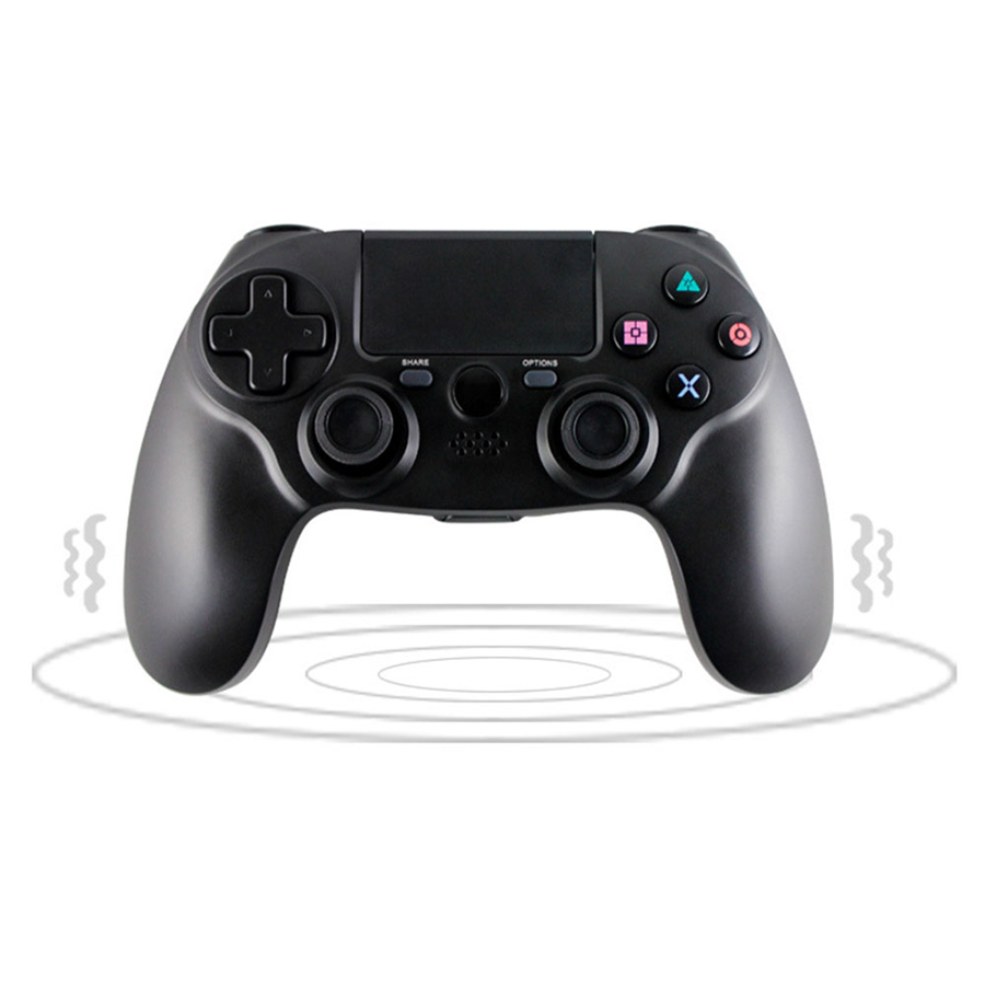 Le plus nouveau contrôleur sans fil de manette de jeu de Bluetooth pour les manettes de manette de contrôleur de jeu de PS4 pour la Double vibration de PlayStation 4