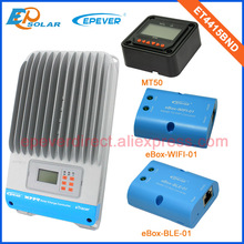 mppt solar 45A 45Amp battery charger controller ET4415BND with MT50 and both wifi and BLE function box