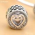 Esencia Coolkuxuan Adapta Pandora Pulseras PASIÓN Bolas de Plata 2016 Pre-otoño 100% 925 Plata Esterlina Encantos de La Joyería DIY