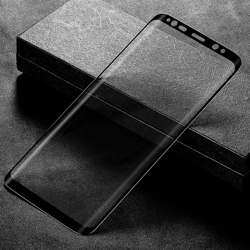В 3D поверхности полный охват закаленное стекло для samsung Галактика С8 s8plus экран защитный плёнки для samsung Galaxy Примечание 8 стекло