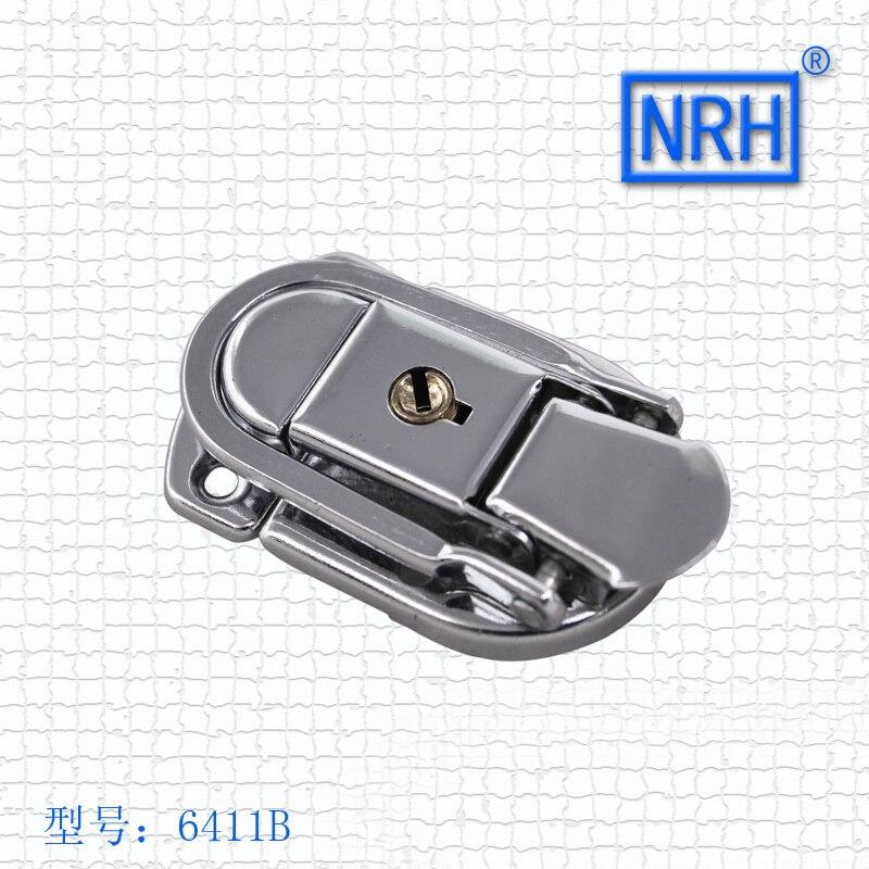 NRH 6411b стали хромом Переключить draw защелки с 2 Ключи для портфель и чемодан 2 шт защелка переключения HASP оптовая цена