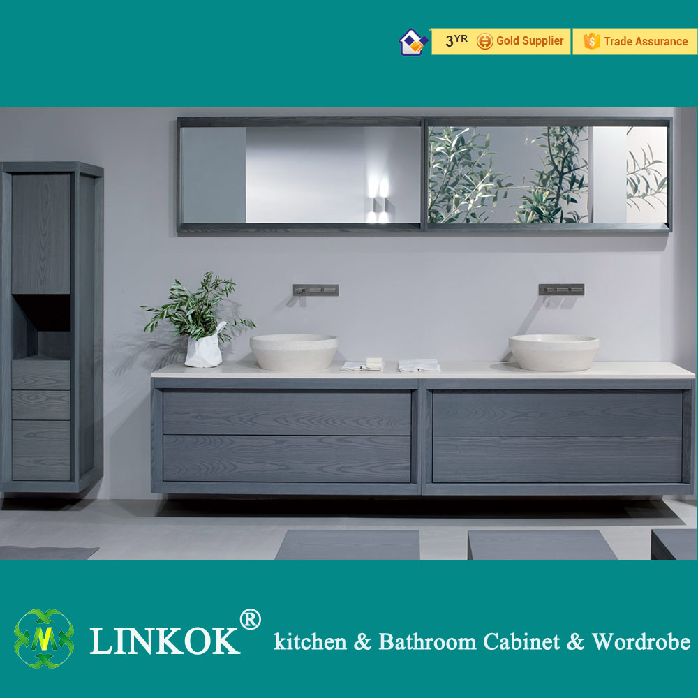 Exceptionnel Linkok Furniture Customers Request Bathroom Sink Vanities,bathroom Double  Vanities,bathroom Furniture Vanities In Bathroom Vanities From Home  Improvement On ...