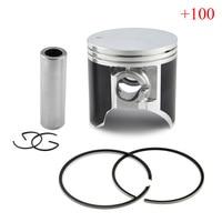 Motorcycle Hign Chromium Faced Aluminium Cylinder Piston Rings Set Kit For SUZUKI TSR200 100 67mm