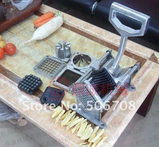 manual potato cutter /fruit separator/ potato cutting machine/ vegetable slixer potato p4103