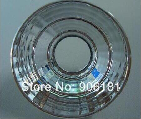 QHOL-35 High quality COB Reflective Cup, Size: 35X17.45mm, 45 degree, Clean Surface, PC Materials, Aluminum Coating