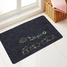 Floor Carpet Modern Home Door Entry Welcome Mat Outdoor Funny Cartoon Carpets for Bedroom/Bathroom/Kitchen