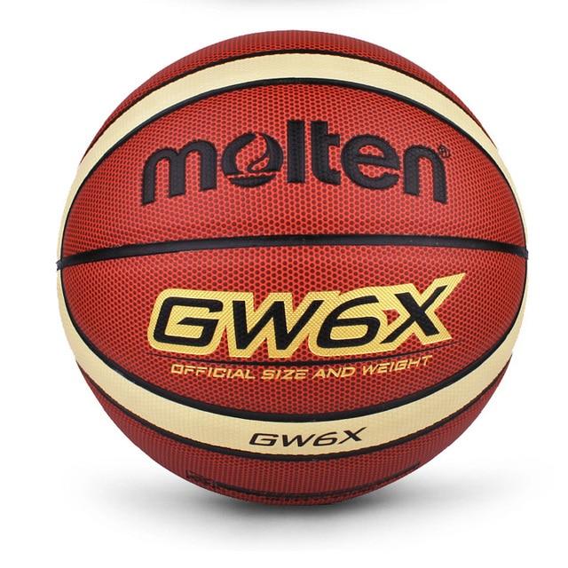 2018 marca GW6X pelota de baloncesto material de la PU oficial Size6 de baloncesto de Mujeres de baloncesto de interior y al aire libre durable de baloncesto