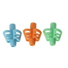 3 шт. двухпальчиковая насадка на карандаш силиконовый держатель для карандашей для малышей Обучающие инструменты для письма письменная ручка