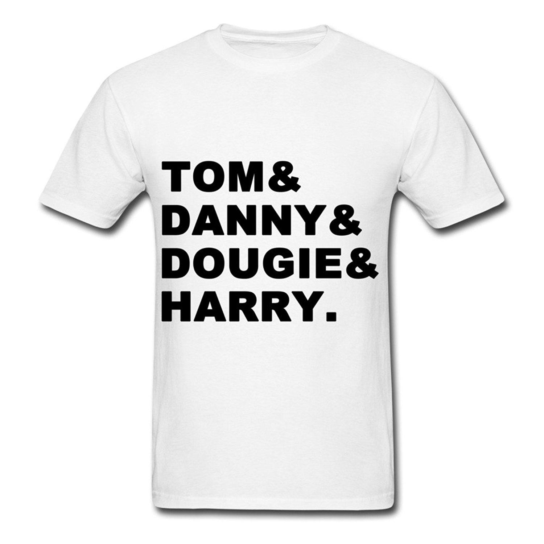 Danny zuko black t shirt - 2017 Hot New Style Print T Shirt Special Design Men S Tom Danny Dougie Harry T Shirts White Big Size 3xl
