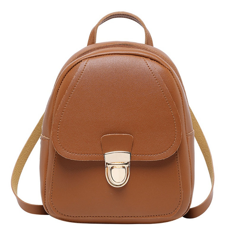 Covered Lock Crossbody Backpack Bags For Women Fashion Girls Casual Ladies Clutch Female Quailty Travel 2019 New