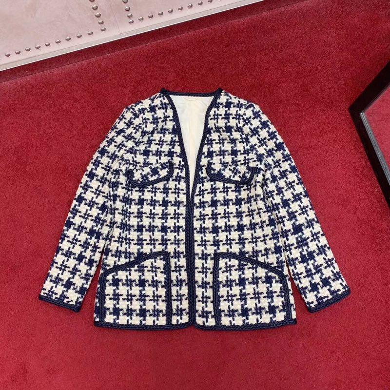 Модные Для женщин Пальто и куртки 2019 взлетно посадочной полосы роскошь известный бренд Европейский дизайн вечерние стиль Женская одежда