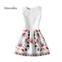 Een Lijn Zomer Feestjurk Vrouwen Wit Bloemen Zip Terug Elegante Tank Jurken Fashion Gedrapeerde Leuke Slanke Mini Jurk